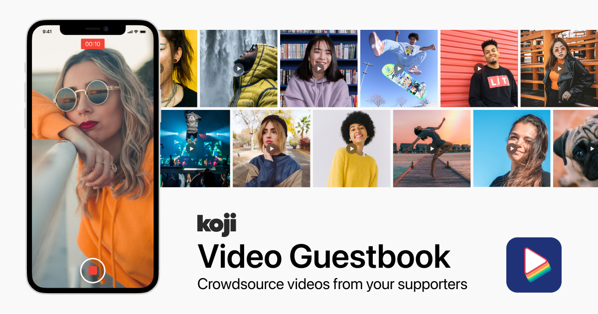 Introducing Video Guestbook: Crowdsource Video Content from your Supporters